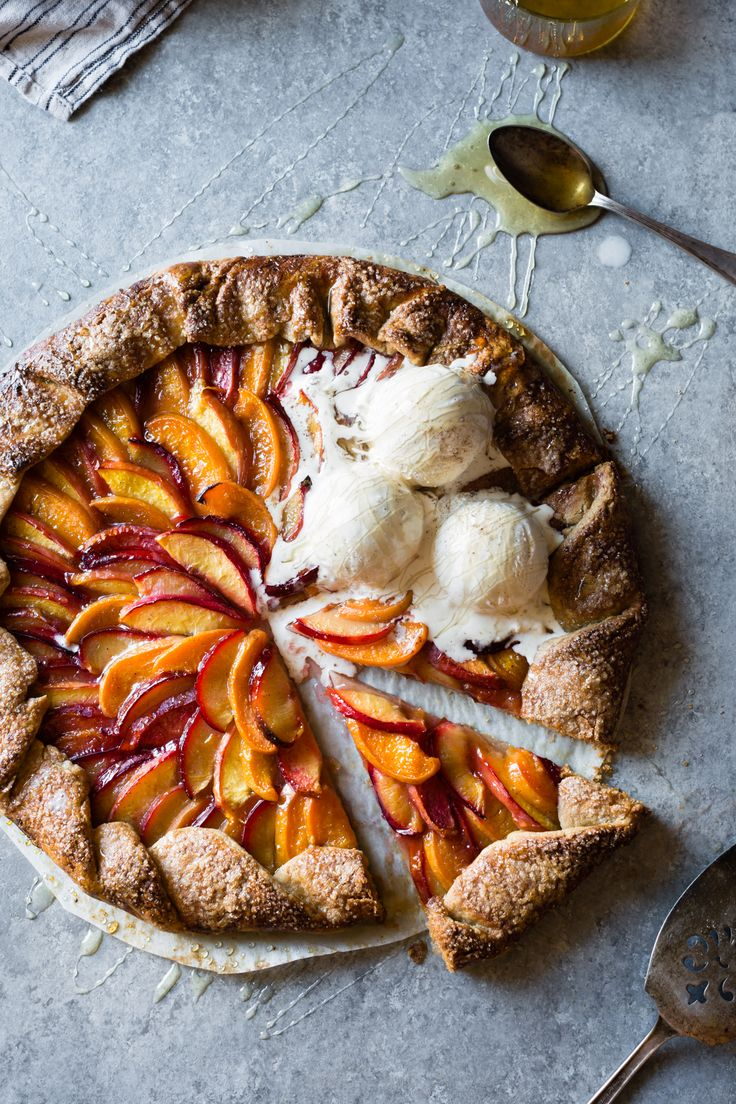 Apricots, nectarines, peaches & plums...take advantage of summer's sweetest treasures with this Honey Cardamon Stone Fruit Galette