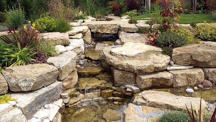 1000 ideas about waterfall design on pinterest diy for Garden waterfall designs