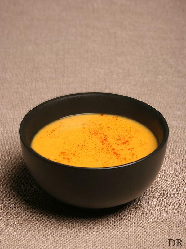 Things I Like..: Kruidige zoete aardappel gember soep