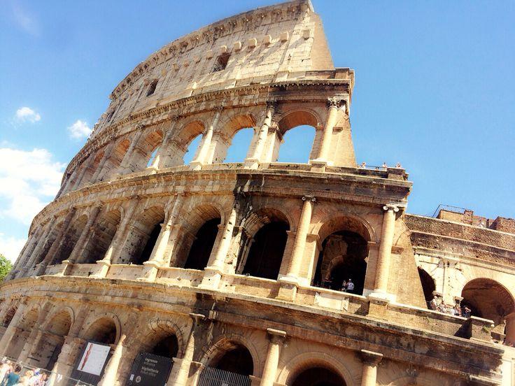コロッセオ。 歴史を紐解くと。。ちょっと怖いw