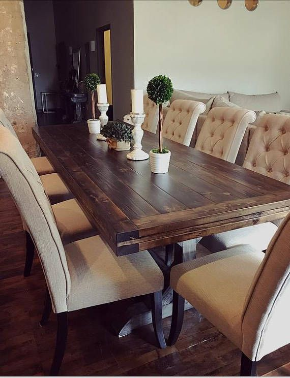 Wood Dining Table In 2018