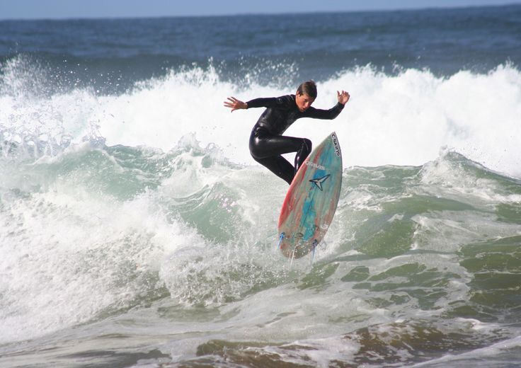 Surfing at Louisburgh