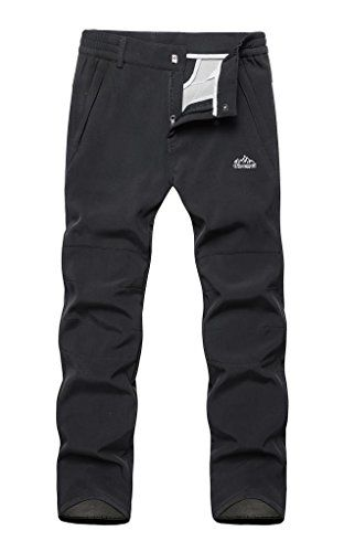 CozyRoom Women's Soft Shell Fleece Climbing Pants Waterproof Black Size M Cozyroom http://www.amazon.com/dp/B00SRK1UZO/ref=cm_sw_r_pi_dp_Y9xGwb09V5PQ3