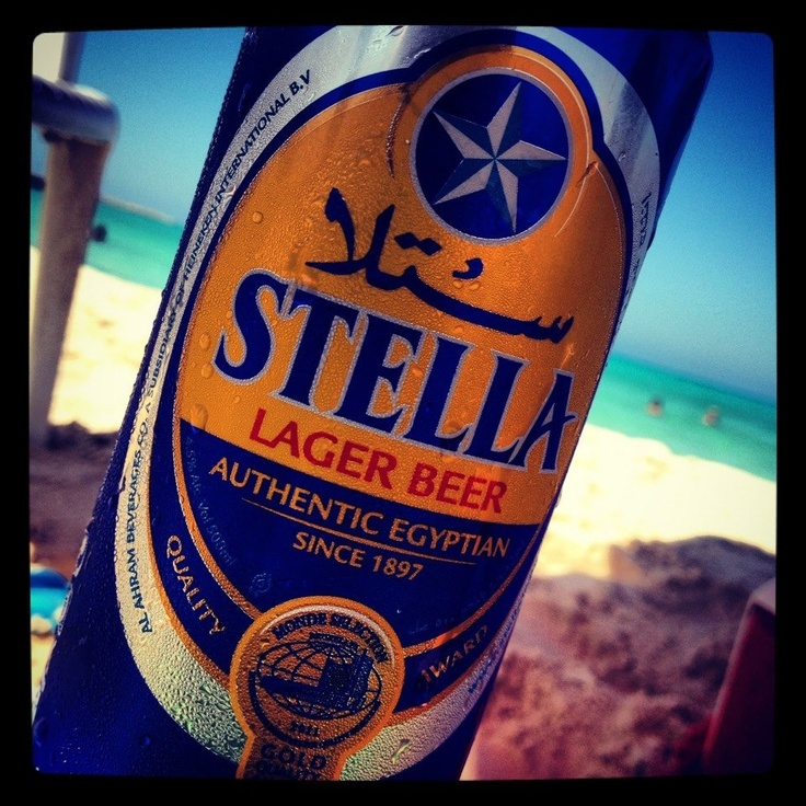 Stella, beer Egypt
