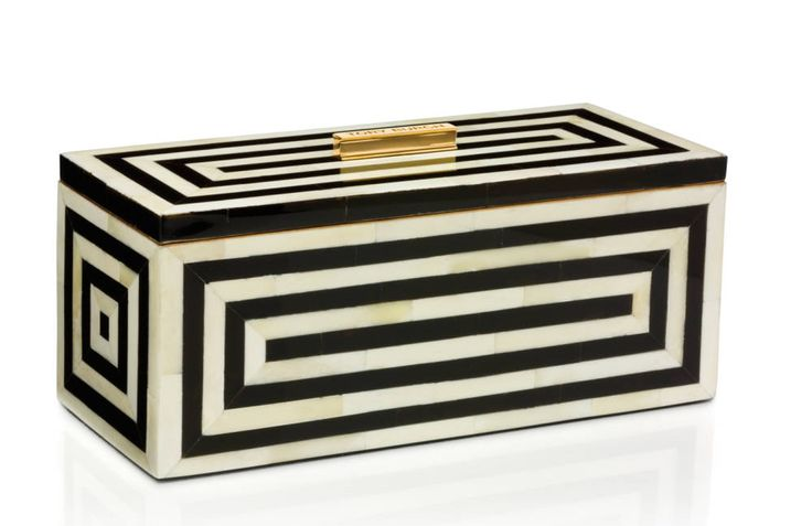 Tory Burch art deco box.
