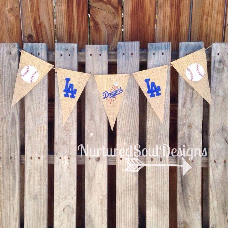 Dodgers Banner/ Dodgers Decor/ Dodgers Party/ Dodgers Theme/ Baseball/ Baseball…