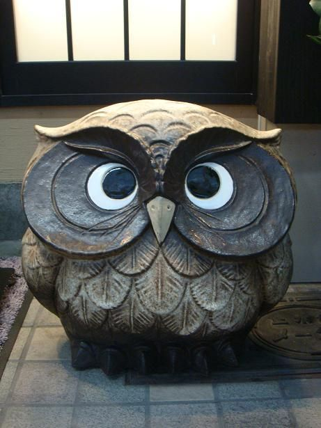 owl ~ want this for my garden!