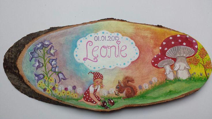 Naamschilderij Leonie