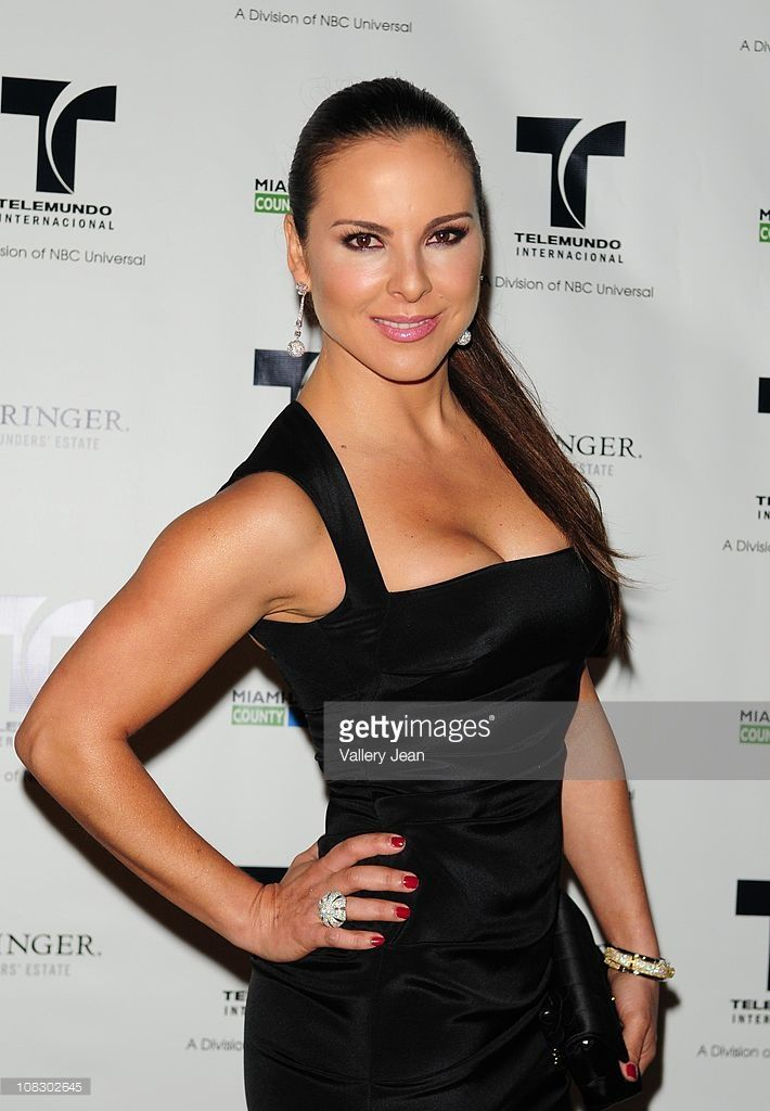 Kate Del Castillo attends Telemundo NATPE party at Vizcaya Museum & Gardens on January 24, 2011 in Miami, Florida.