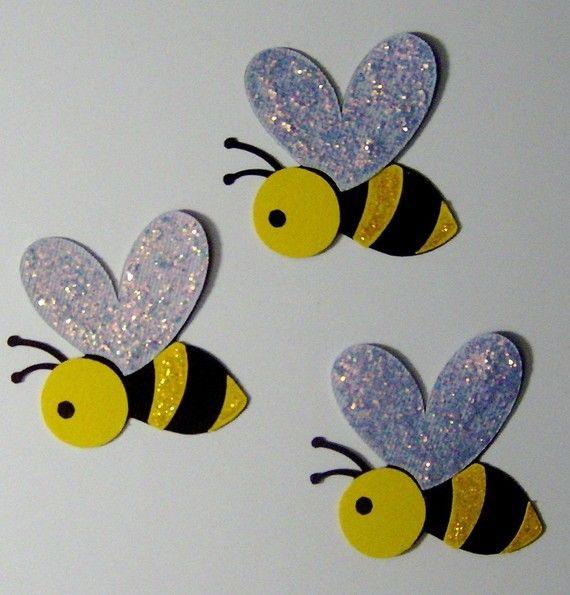 Glitter Bees