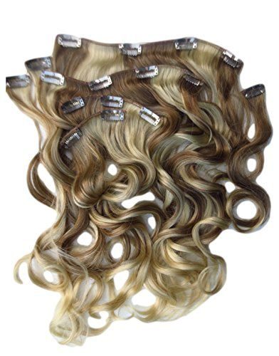 New Real Look Hair Extension Blonde Mix With Bleached Tips Wavy 24 Inch X Long Synthetic -- Check out the image by visiting the link.Note:It is affiliate link to Amazon.