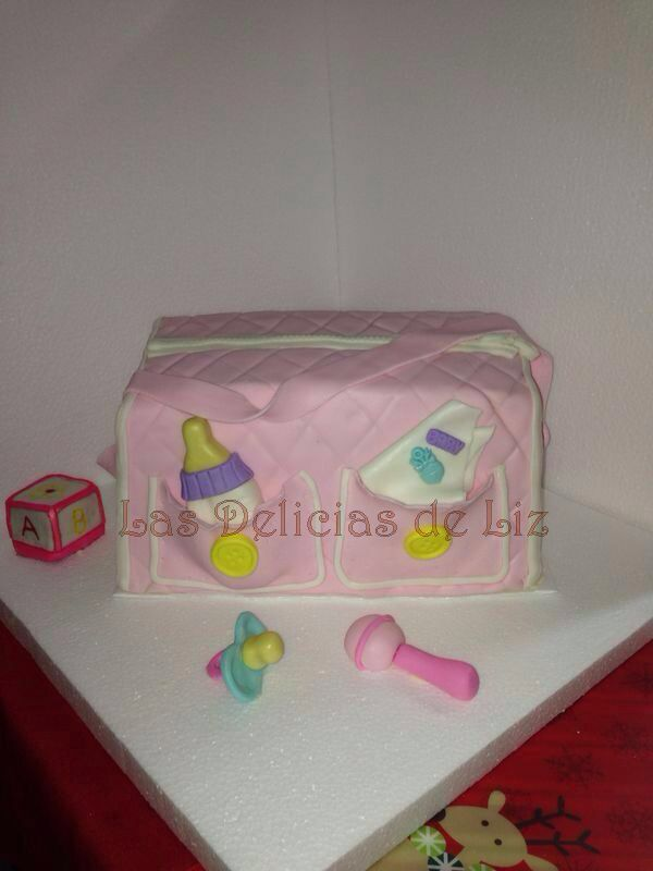 Torta Baby Shower. 100 % comestible