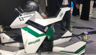 Αuto  Planet Stars: Ντουμπάι: Περιπολίες αστυνομικών με… ιπτάμενες μηχ...