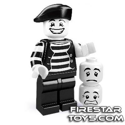 LEGO Minifigures - Mime Artist (firestartoys, 2013)