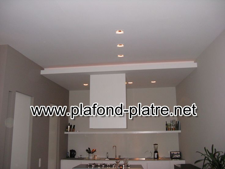 17 best Eclairage images on Pinterest Ceilings, Kitchens and - faux plafond salle de bain pvc