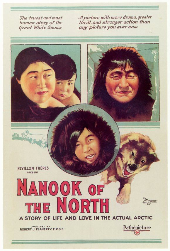 Nanook of the North 11x17 Movie Poster (1922)