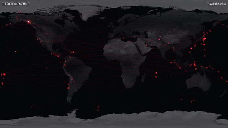 100 Years of Earthquake Data Becomes an 8-Day-Long Orchestral Arrangement   The Creators Project