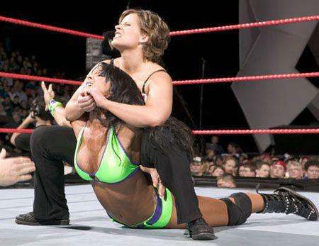 Where Pro wrestling camel toe remarkable