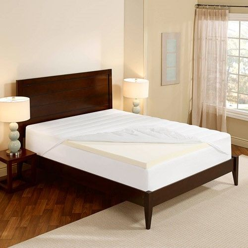 Sleep Innovations Essentials 2 Memory Foam Mattress Topper With