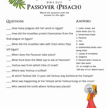 Bible mature quiz