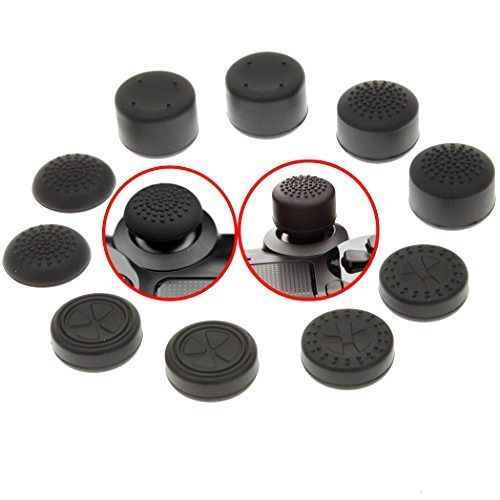 Epic Kelux rubber Thumb Grips Pack For PS analog Controllers New Free Shipping Kelux