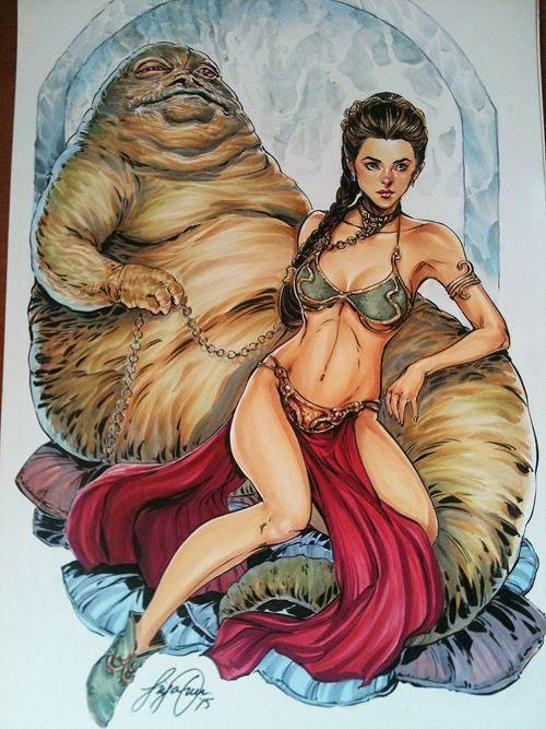 Jabba Leia Sex 115