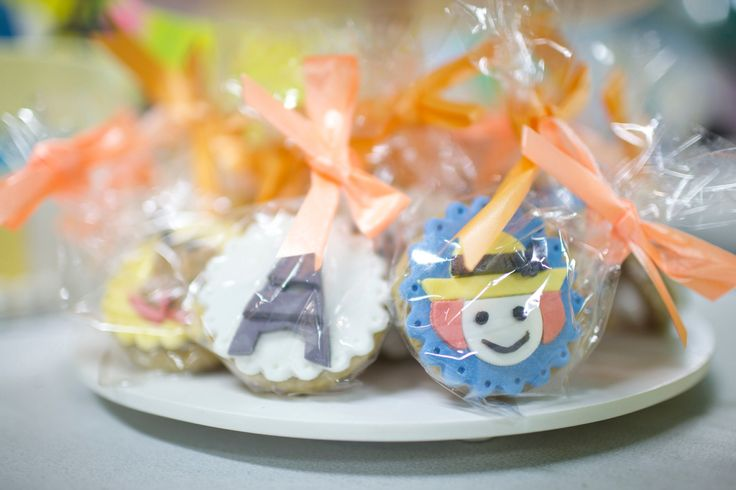 Cookies for Madeline's theme party