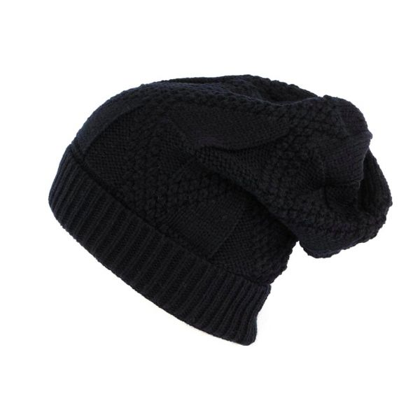 Bonnet Rasta Oversize Bleu Marine Hopkins Nyls Creation #bonnet #mode #bonplan #streetwear #soldes2016 sur votre #startup Hatshowroom.com