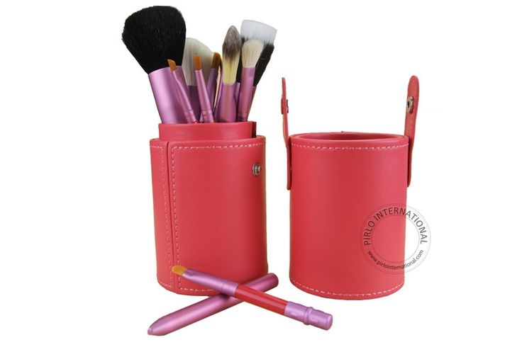 12.16$  Watch here - http://alizbd.shopchina.info/go.php?t=32324211727 - 12pcs Cosmetic Set Professional Cosmetic Facial Make up Brush Kit Makeup Brushes Tools Eyeshadow powder Brush Pink 12.16$ #magazineonlinewebsite