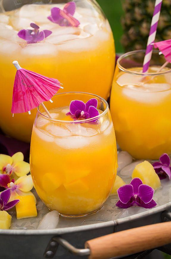 Pineapple Mango Lemonade | Cooking Classy