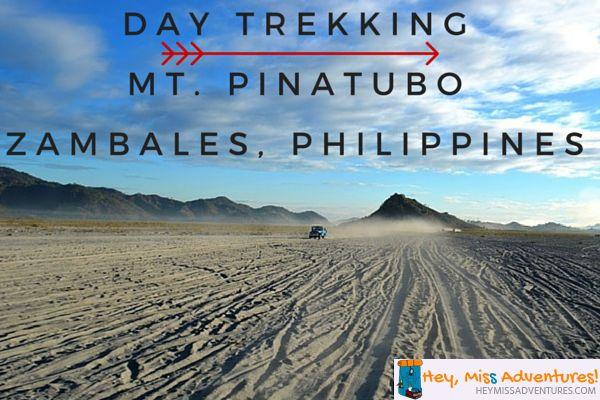 Day Trekking At Mount Pinatubo, Zambales