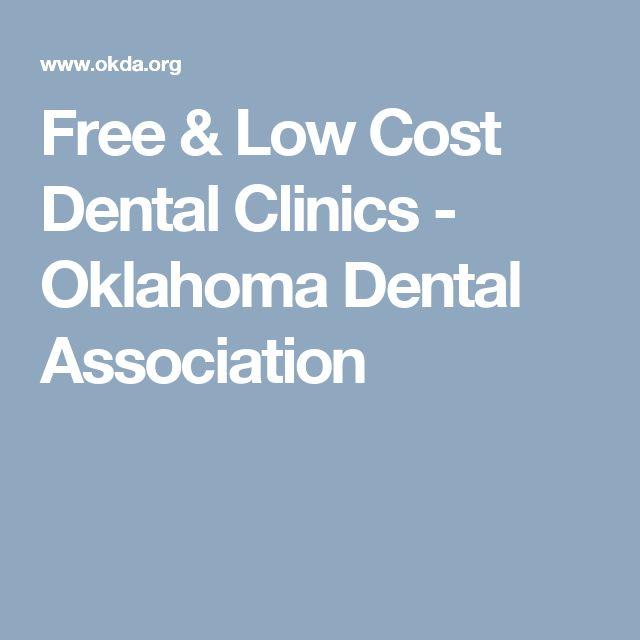 Free & Low Cost Dental Clinics - Oklahoma Dental Association