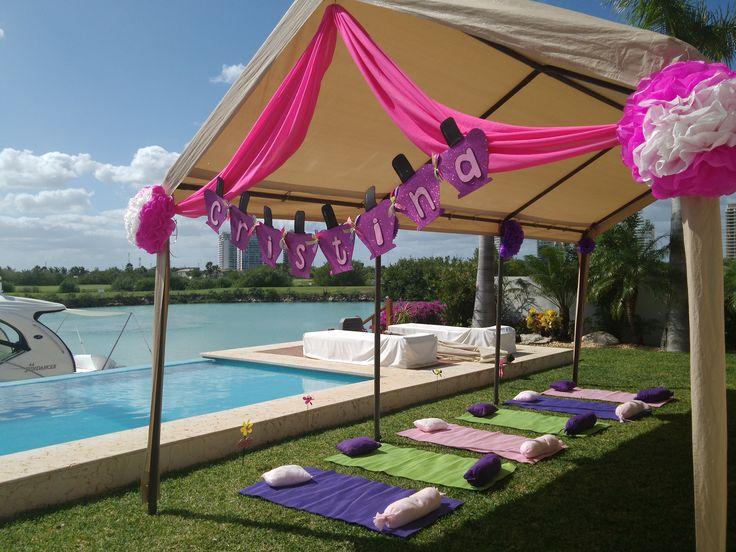 Fiesta spa para ni as en cancun diversi n garantizada for Decoracion en cancun