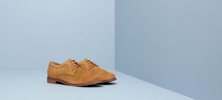 СПЛИТ ЗАМШИ короткие сапоги - Женская обувь - ЖЕНЩИНА - PULL & BEAR Украины