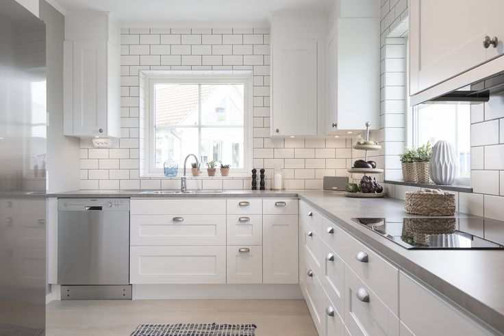 Ballingslöv - Ballingslövs kök pryder många olika kök runt om i Sverige. Här är ett kök med luckan Nordic i ett LB-hus.