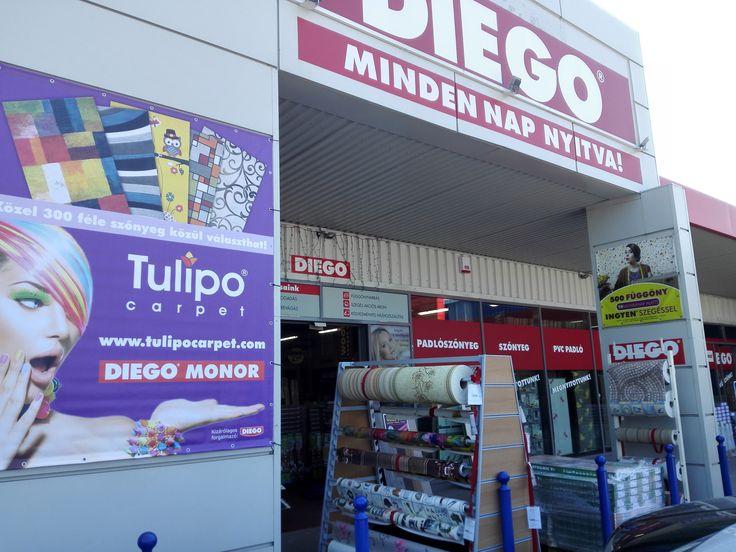 Diego Monor kizárólag a Tesconál : Szőnyeg,Parketta,függöny, Pvc,Tapéta...