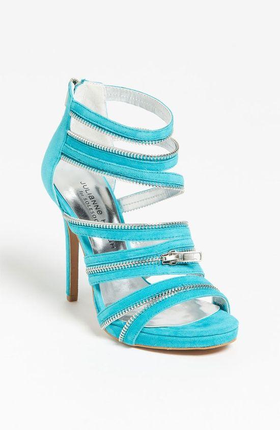 Ice Blue High Heels