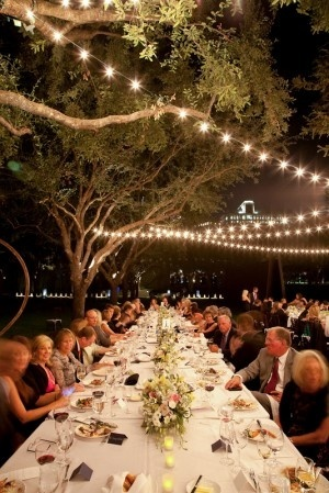 lighting lighting lighting: Gardens Party, Dinners Party, Lighting Lighting, Weddings Receptions, Outdoor Party, String Lighting, Outdoor Weddings, Outdoor Eating, Outdoor Receptions