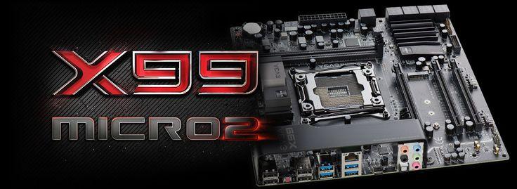 EVGA X99 Micro2 Motherboard