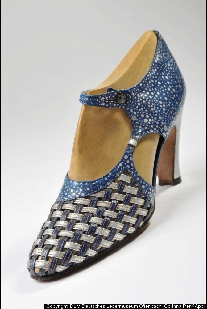 Vivier Shoes - 1934 - by Roger Vivier for German tannery Heyl‐Libenau, French - Bata Shoe Museum - @~ Mlle