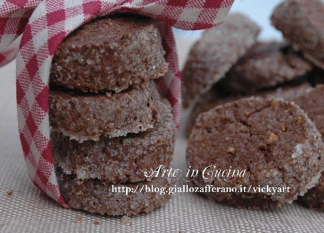 Biscotti al cioccolato di Martha Stewart senza glutine, con farina di riso, ottimi per colazione e the, allo zenzero con polvere di nocciole