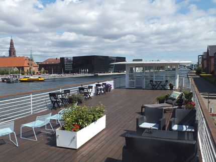 Hotel CPH LIVING - The floating Hotel in Copenhagen's Harbour