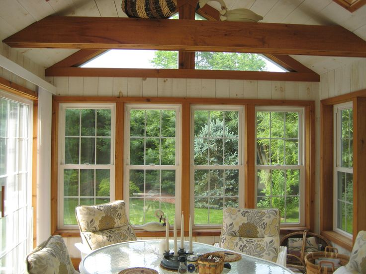 Screened Porches, Sunrooms, Sliding Door, Decking, Sunroom, Patio Decks,  Indoor Sunrooms, Front Porches