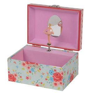 Jewellery Box - English Rose