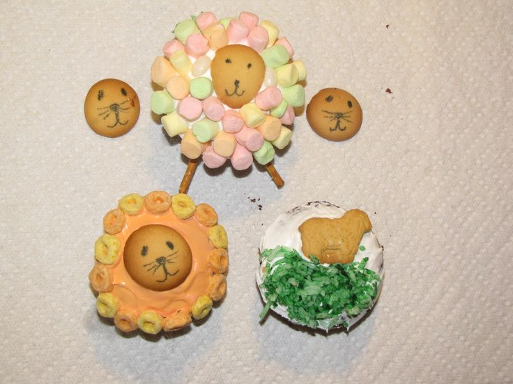 Free Edible Crafts for Small Kids for Vacation Bible School: Noah's Ark & Animals Are Kids Favorite Food Craft Ideas