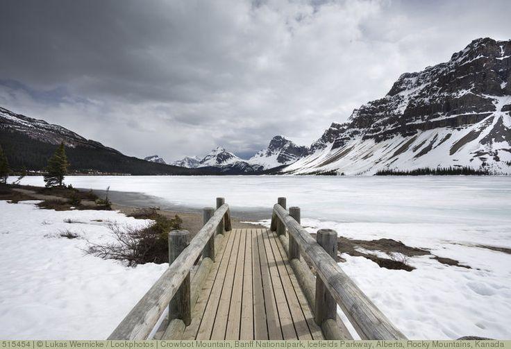 Crowfoot Mountain, Banff Nationalpark, Icefields Parkway, Alberta, Rocky Mountains, Kanada
