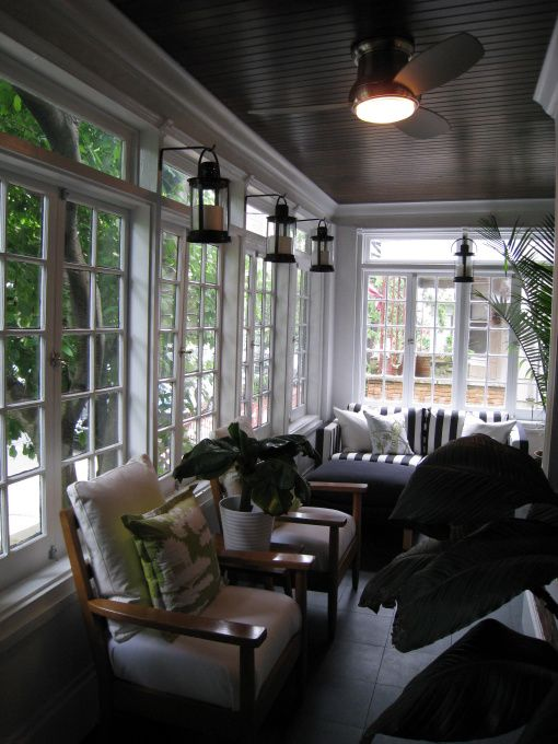 174 Best Sunroom Ideas Enclosed Porches Images On Pinterest Decks Arquitetura And Screened