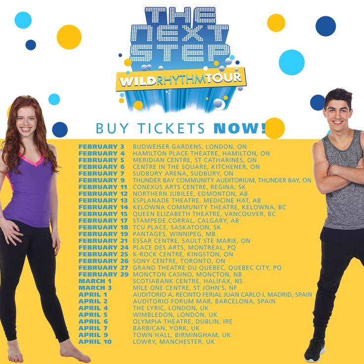The Next Step Wild Rhythm Live Tour