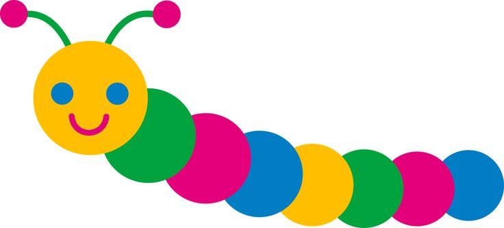 dibujos de gusanos para imprimir | Math center | Pinterest