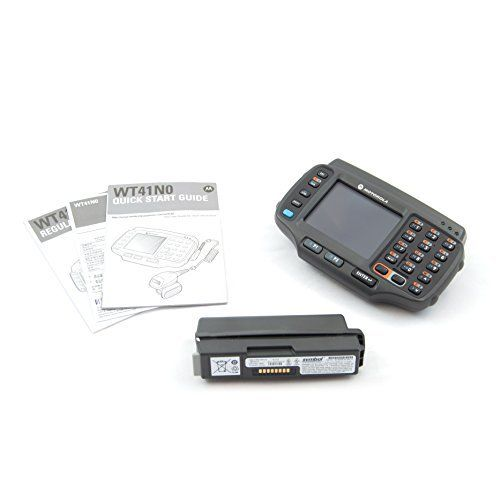 Motorola - WT41N0 Wearble Computer Terminal - Wlan 802.11a/b/g/N / Non-Touch Screen / 2-Color Keypad / 512Mb/2Gb / Windows CE 7.0 / WT41N0-N2S27ER. Motorola WT41N0. Windows CE 7.0. WT41N0-N2S27ER. Non-Touch Screen. WLAN 802.11 a/b/g/n.